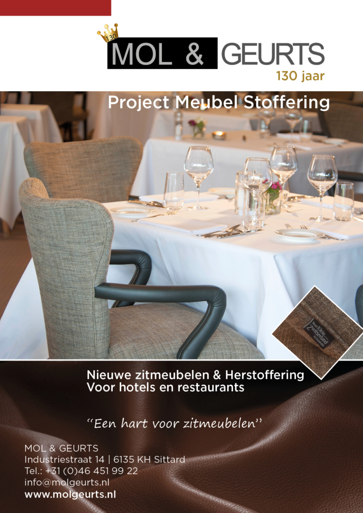 Project meubel stoffering Mol & Geurts